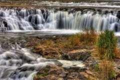 Красота водопада Хрейнфоссар